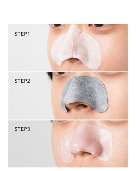 30% off nature republic blackhead clear 3 step nose pack