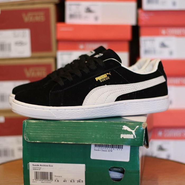 online retailer efeb0 2bb77 Jual Puma Suede Classic Black White Premium High Quality Limited Stok Legit  - Kota Bandung - mainshoesoffcl | Tokopedia