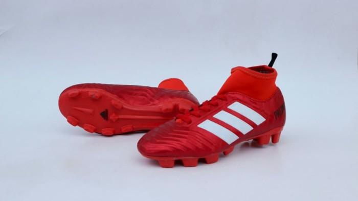 Jual Sepatu Sepak Bola Anak Adidas Predator High Merah Kota