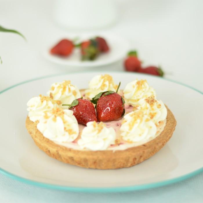 harga Strawberry cream cheese pie Tokopedia.com