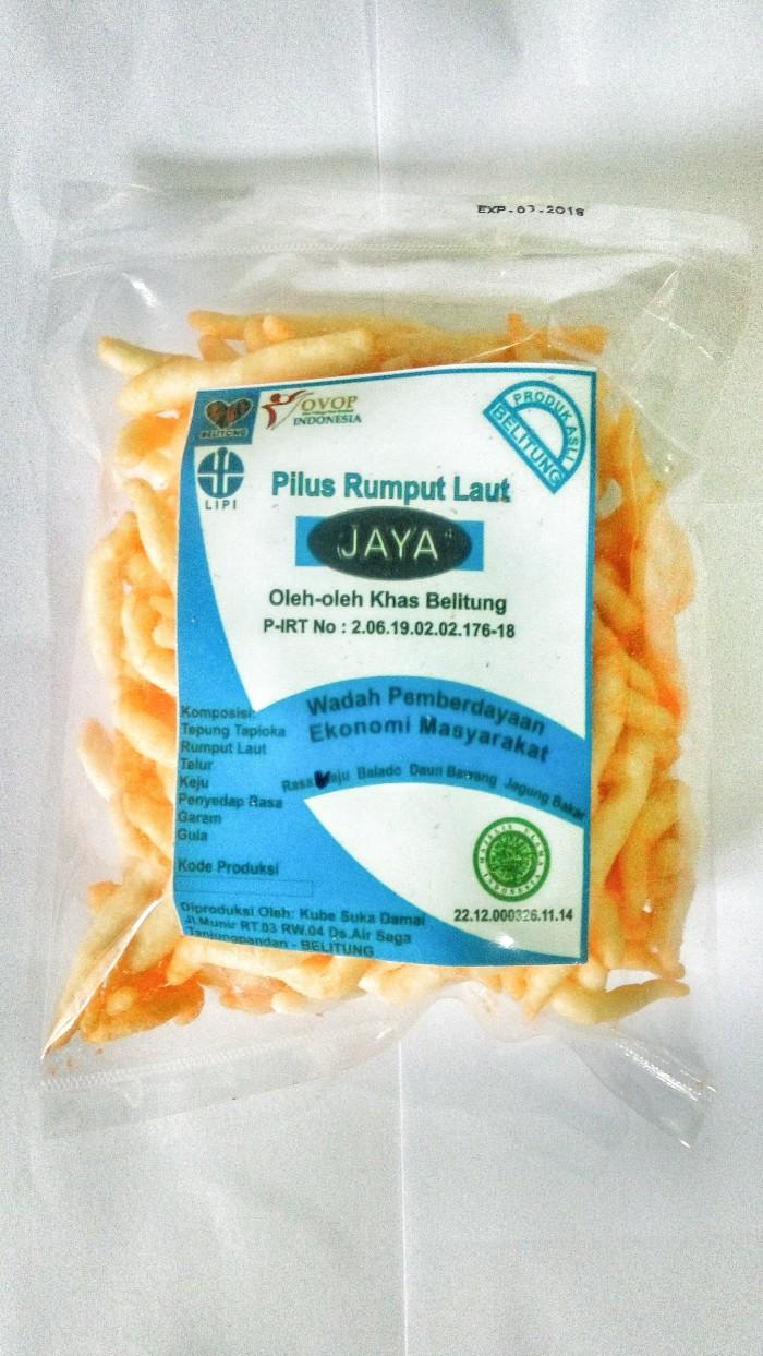 Jual Pilus Rumput Laut Daun Bawang Kab Belitung Krispijaya