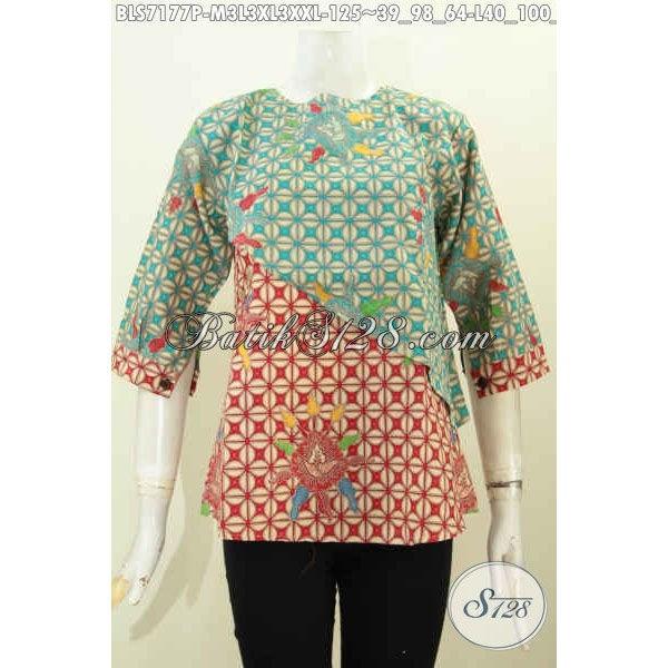 harga Atasan batik wanita blus batik kantor size m l xl xxl bls7177p Tokopedia.com