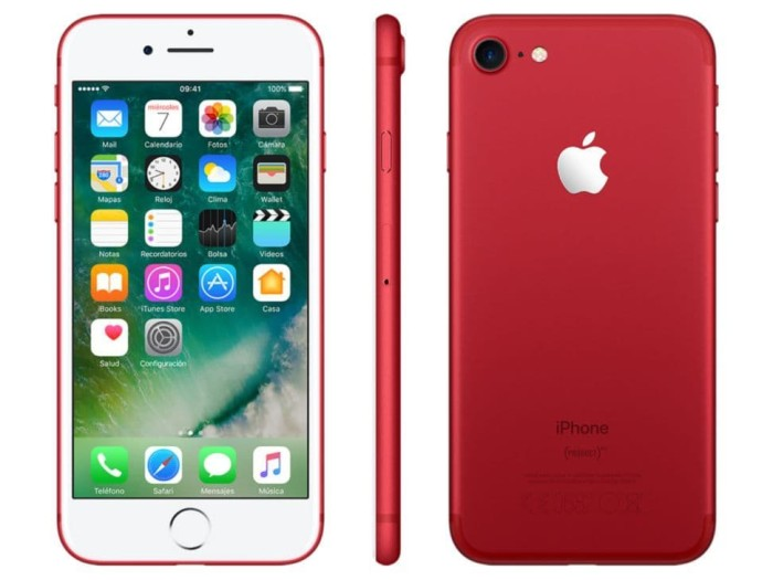 harga Iphone 7 128gb red refurbish Tokopedia.com