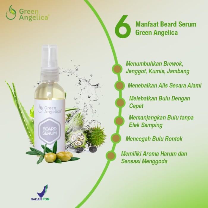 harga Beard serum green angelica (produk penumbuh brewok) Tokopedia.com