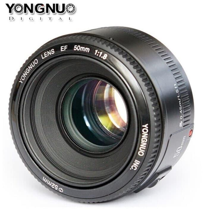 harga Lensa yongnuo ef 50mm f1.8 for canon eos Tokopedia.com