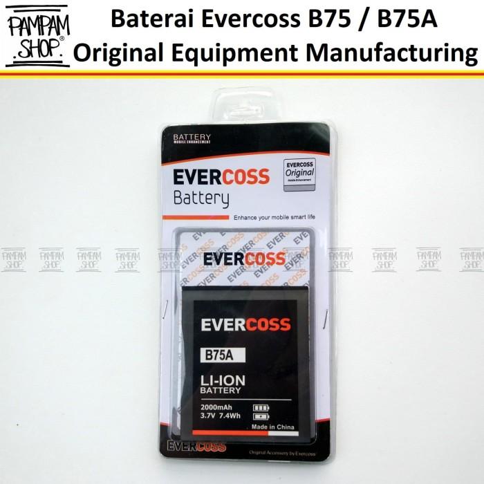 harga Baterai handphone cross evercoss b75a original oem batre evercross Tokopedia.com
