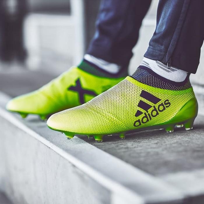 Jual Sepatu Bola Adidas Original X 17 Purespeed Fg Solar Yellow