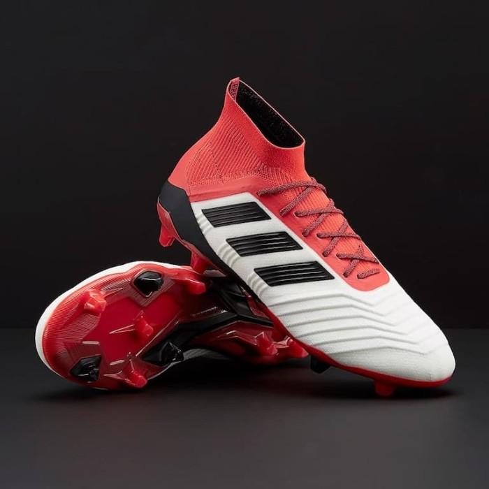 Jual Sepatu Bola Adidas Original Predator 18 1 Fg White Cm7410