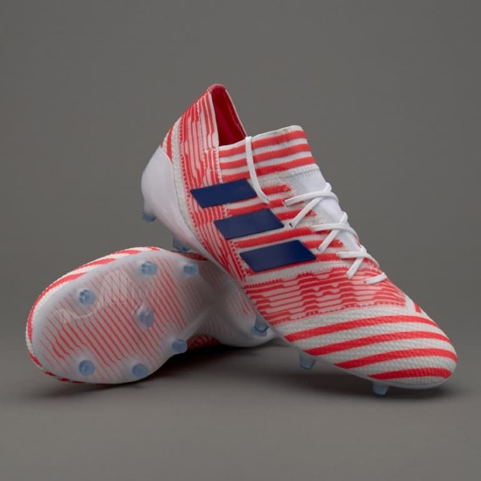 Jual Sepatu Bola Adidas Original Womens Nemeziz 17 1 Fg White