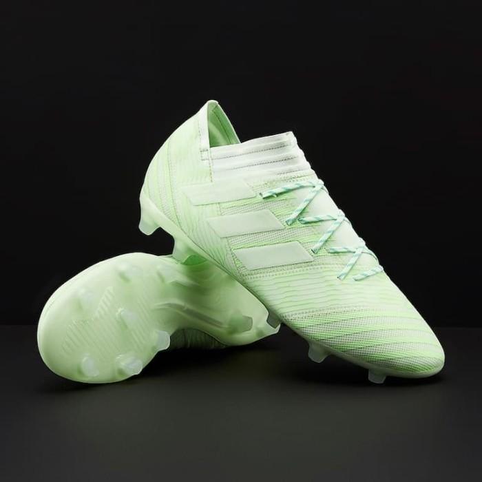 Jual Sepatu Bola Adidas Original Nemeziz 17 2 Fg Aero Green Cp8973