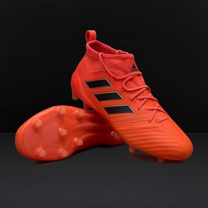 Jual Sepatu Bola Adidas Original Ace 17 1 Fg Solar Orange S77036