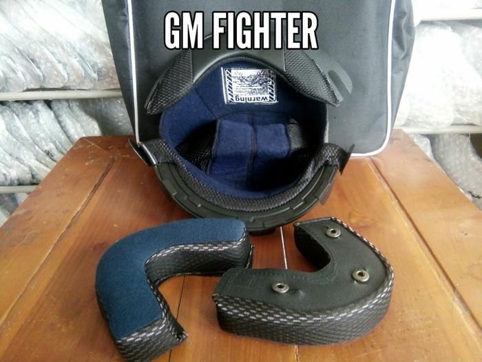 harga Busa helm gm fighter fullset Tokopedia.com