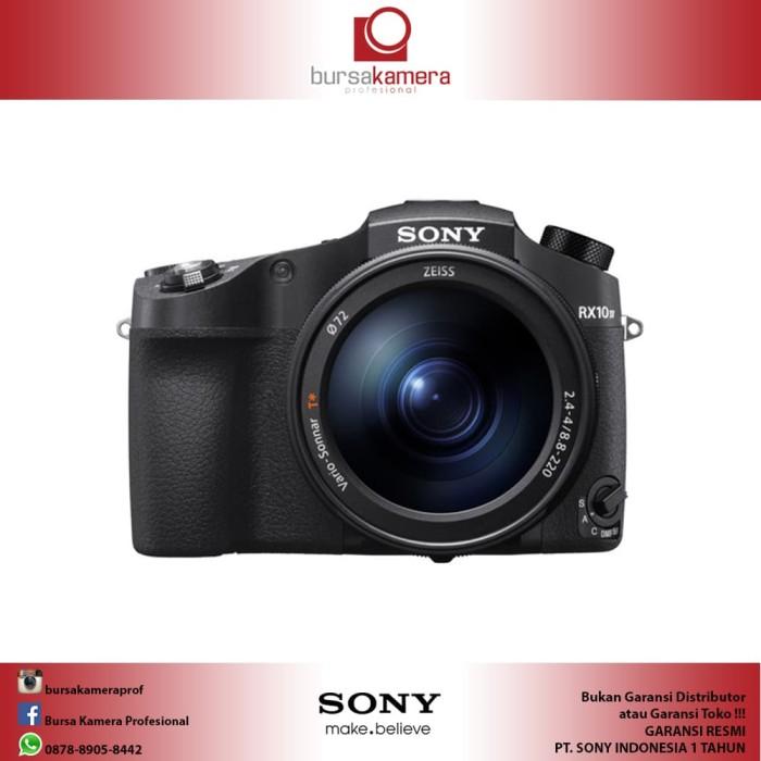 harga Sony cyber-shot dsc rx10 iv digital camera Tokopedia.com