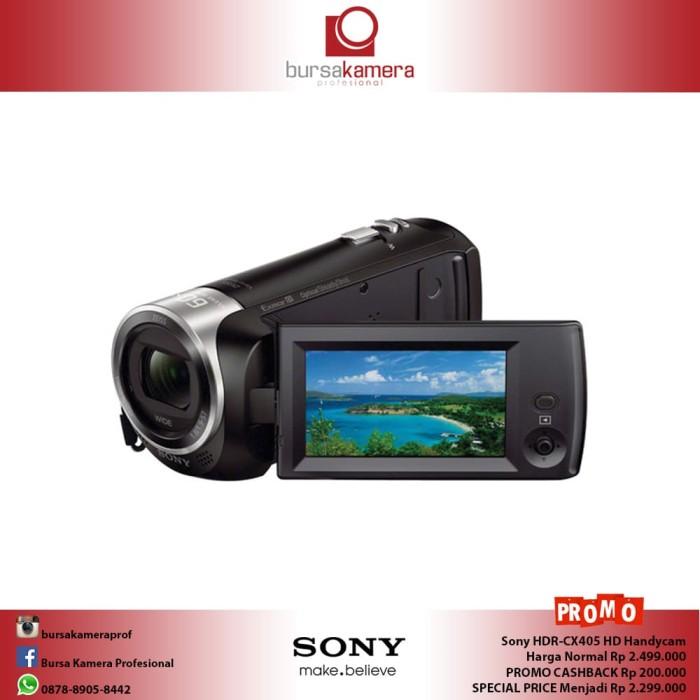 harga Sony hdr-cx405 hd handycam Tokopedia.com