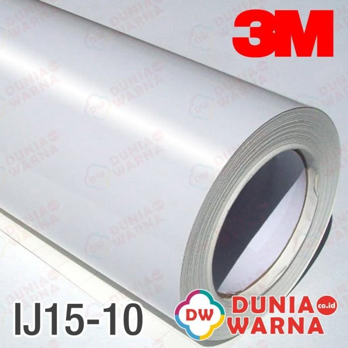 picture regarding 3m Printable Vinyl named Jual Vinyl Electronic Printing 3M Murah IJ-15 Gloss White Solvent Eco Meteran - DKI Jakarta - Dunia Warna Stiker Tokopedia