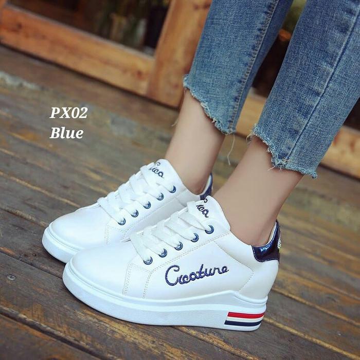 harga Grosir Shoes G9x51 Sneaker Cico List Biru Biru 36 Istimewa I6w51 Blanja.com