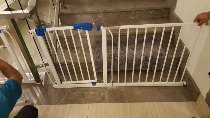 Baby Safety Gate Pagar Untuk Tangga Dapur R Mandi