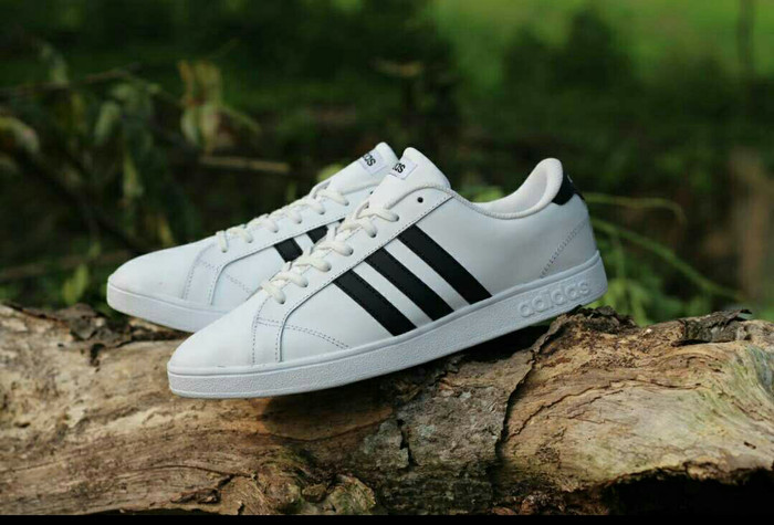 ... cheapest sepatu adidas neo baseline original bnwb white list black  sneakers d0be1 1f044 b676c72233