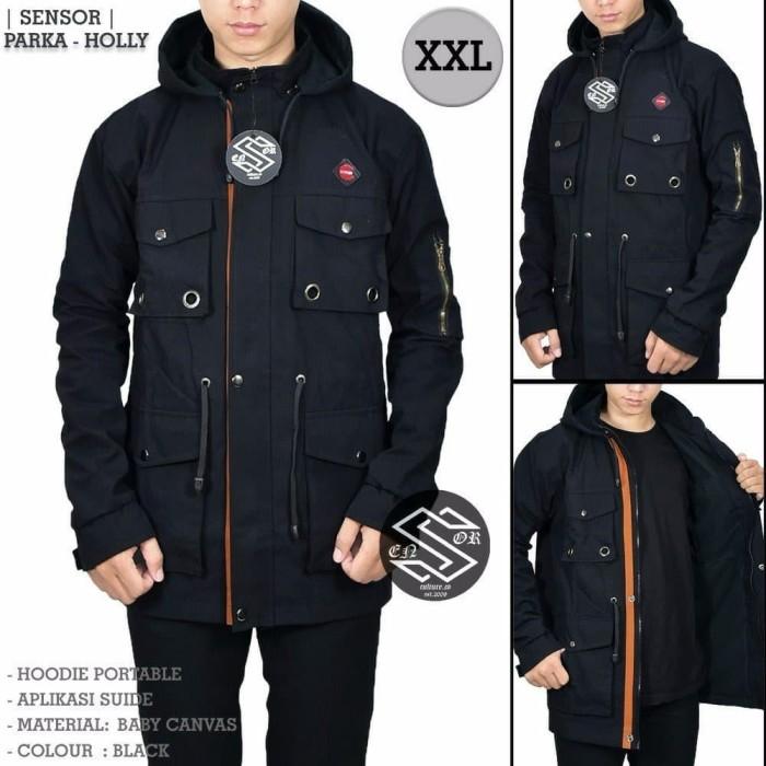 MODEL BARU jaket premium parka pocket jumBo original pria wanita kere ad782ec0ba