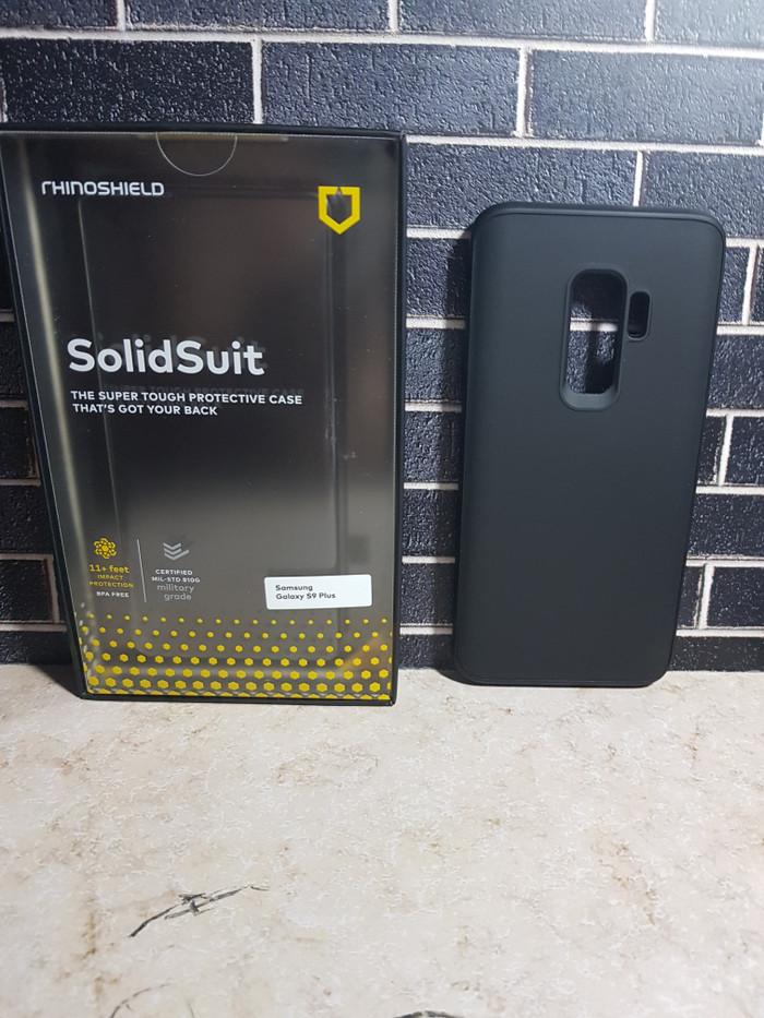 cheap for discount 03491 1e023 Jual Rhinoshield solidsuit classic black casing for Samsung Galaxy S9 plus  - Kota Administrasi Jakarta Timur - Devil Store | Tokopedia