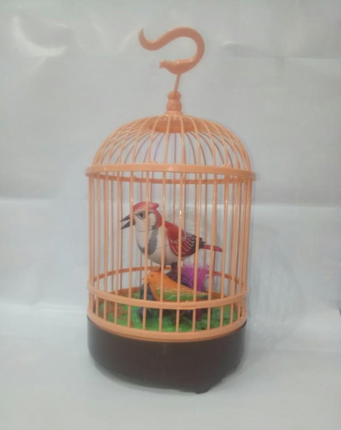 harga Mainan burung sangkar / burung sensor /burung mainan Tokopedia.com