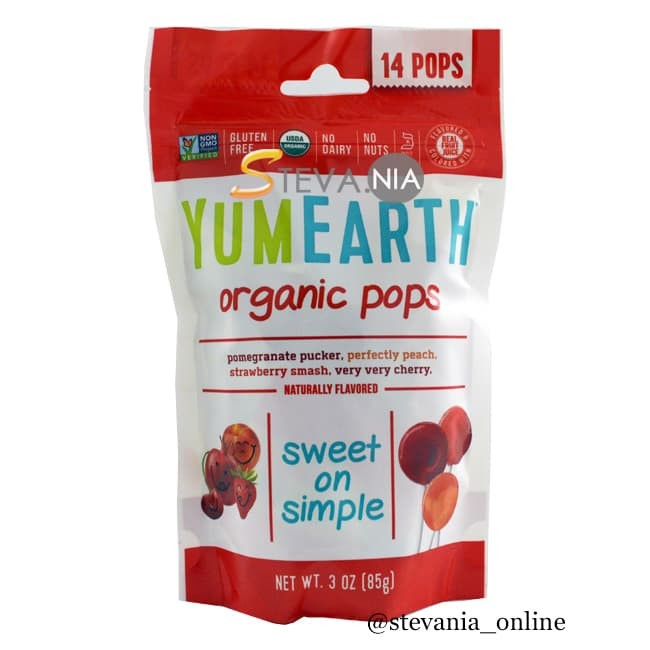 harga Yum earth - organic pops 14 pops 85gr Tokopedia.com