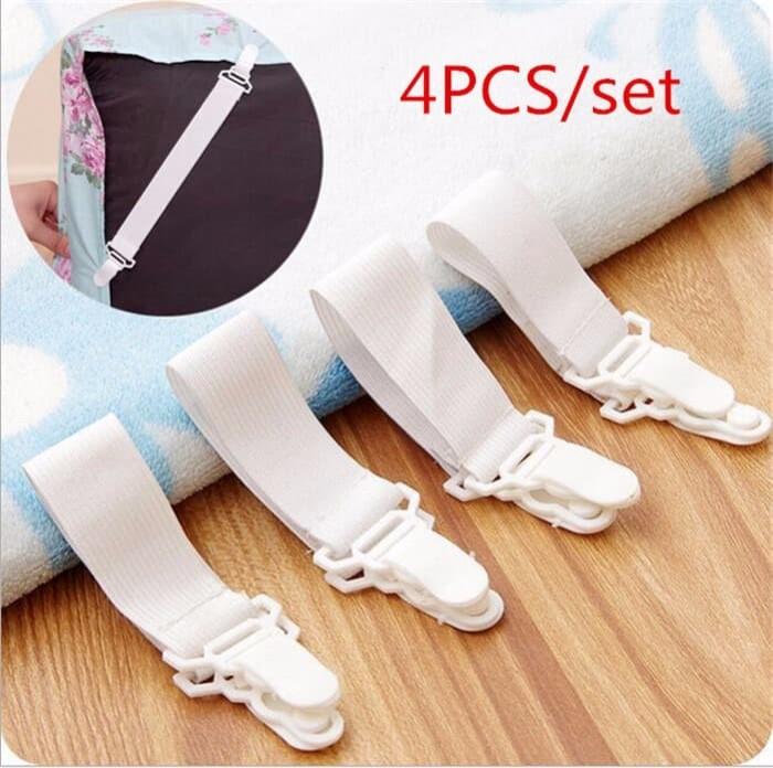 First AR013 Pengait Ujung Sprei Bed Sheet Gripper Seprei Kamar Tidur