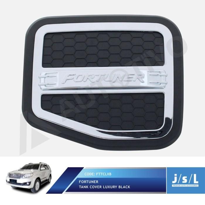 harga Toyota fortuner tank cover jsl tutup tangki bensin model luxury black Tokopedia.com