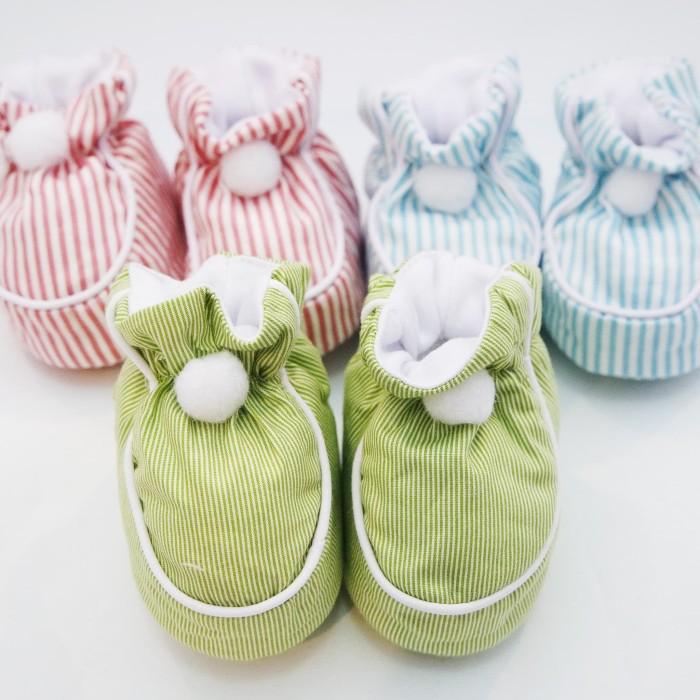 harga Sepatu pon-pon bayi babyu (stripes) Tokopedia.com
