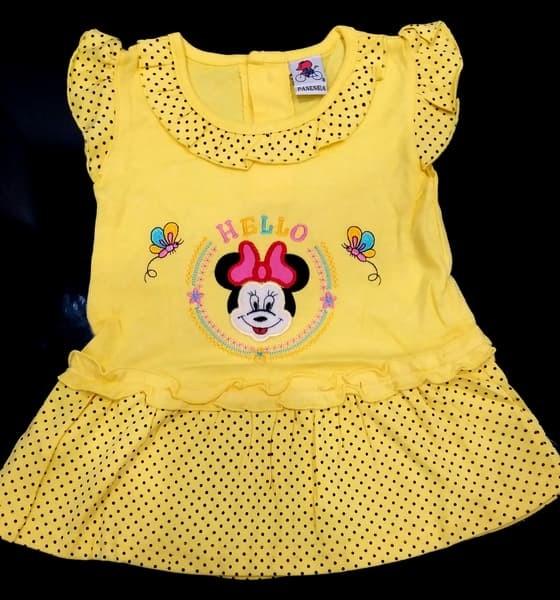 Baju bayi perempuan utk usia 6 sampai 12 bulan model standar