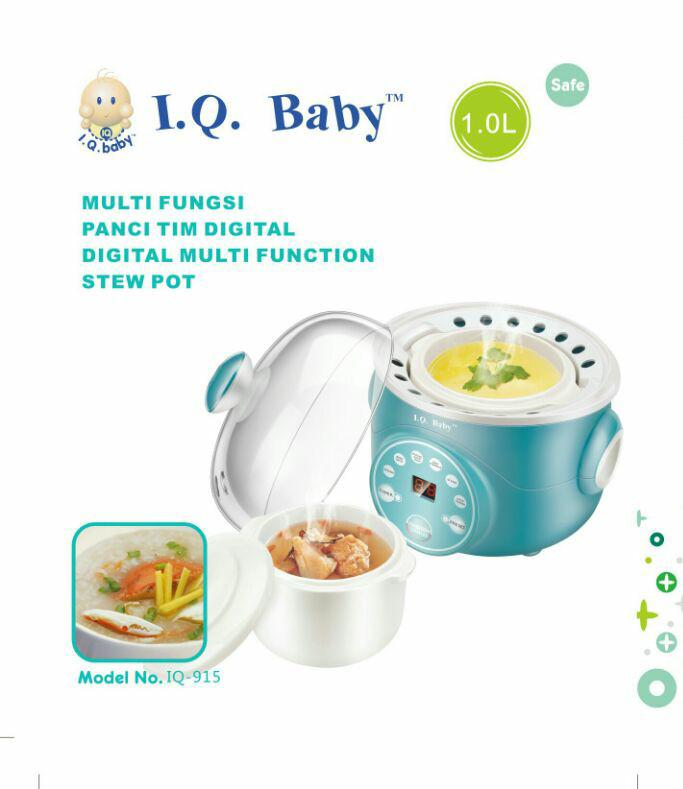 harga Slow cooker digital multi fungsi iq baby, untuk masak dan kukus Tokopedia.com