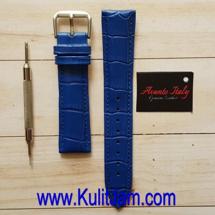 harga Tali jam tangan kulit asli avante italy classic blue Tokopedia.com