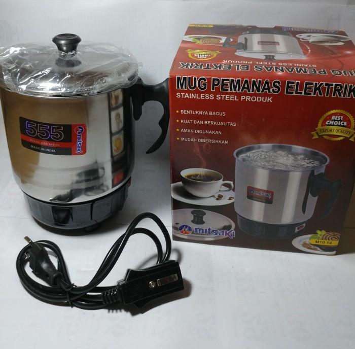 harga Pemanas air teko mug listrik stainless stell panci mitsaki 14 cm Tokopedia.com
