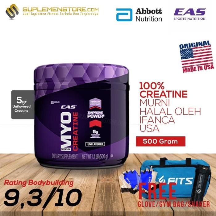 harga Eas creatine 500 gr free tas fits atau sarung tangan flux atau shaker Tokopedia.com