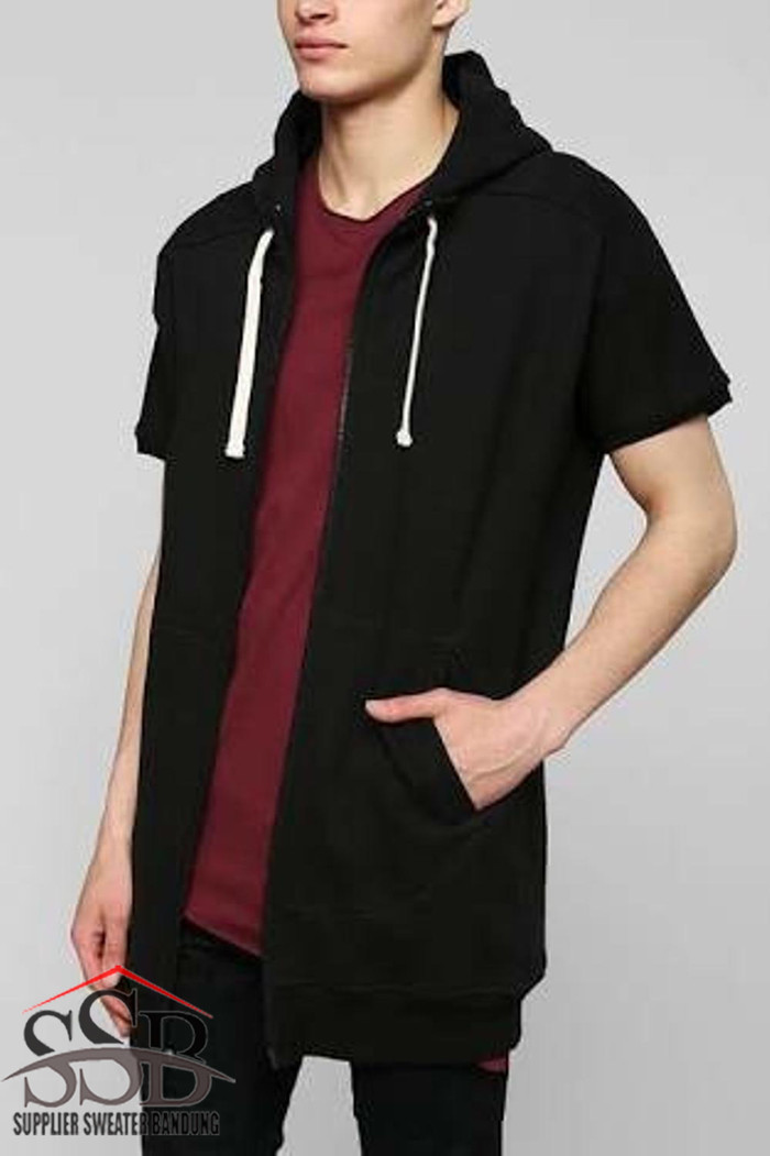 Jaket / hoodie / zipper / sweater / polos lengan pendek