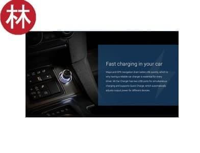 harga Original xiaomi mi car charger czcdq01zm dual usb 5v/3.6a quick charge Tokopedia.com