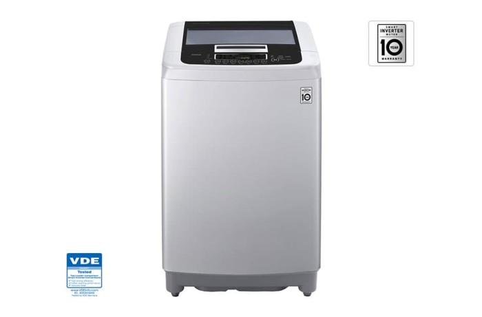 harga Mesin cuci top loading smart inverter lg t2175vsam 75 kg Tokopedia.com