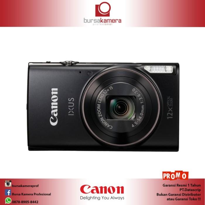 Foto Produk Canon IXUS 285 HS (DataScrip) - Hitam dari Bursa Kamera Profesional
