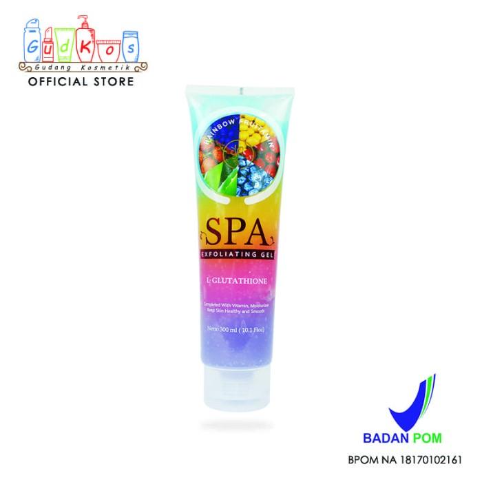 SYB Body Spa Exfoliating Gel BPOM Original [RAINBOW FRUITAMIN]