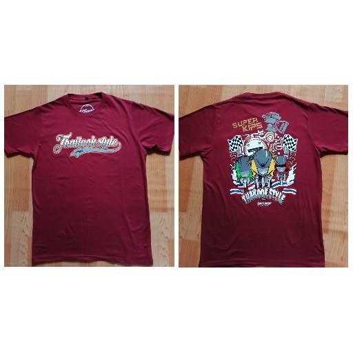harga Tshirt /kaos kawasaki ninja super kips siap order bos Tokopedia.com