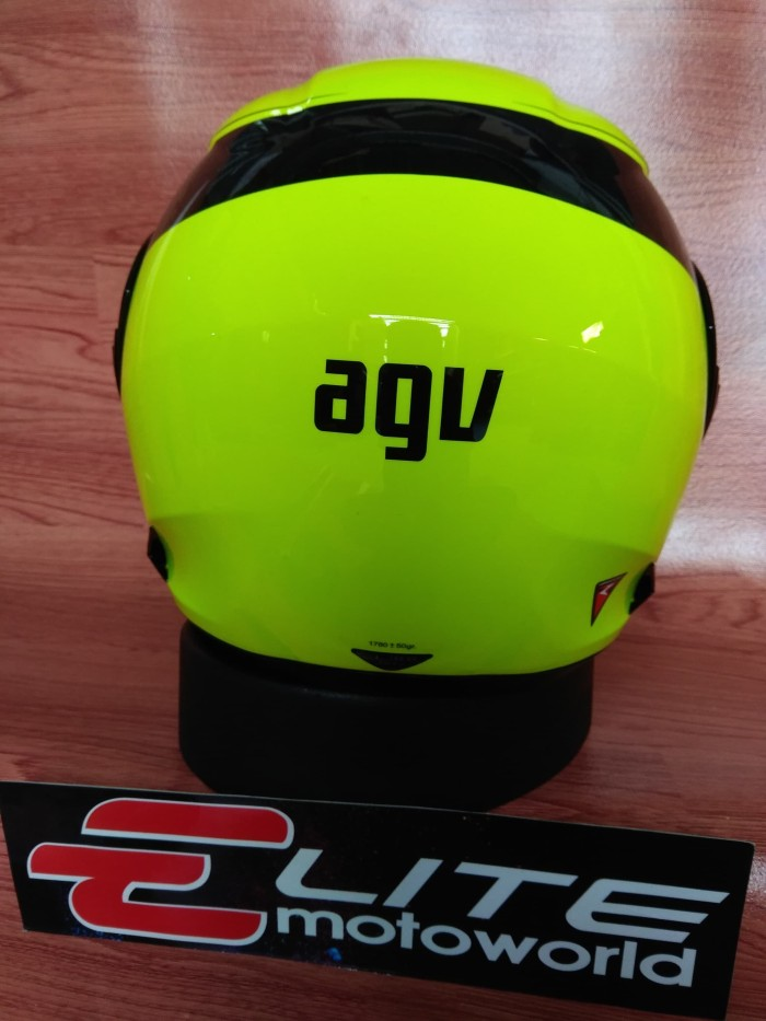 Helm AGV Compact Course Yellow (Helm Modular / Flip Up) 3