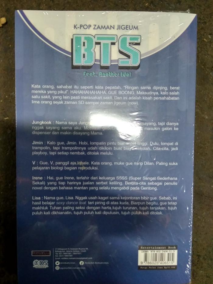 Jual Buku K Pop Zaman Jigeum Bts Jakarta Selatan Parbooks Tokopedia