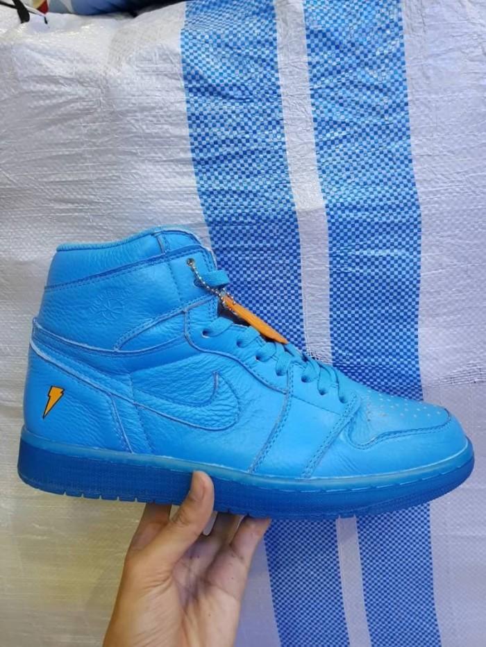 fdfcaa7ba027 Jual Nike Air Jordan 1 OG Gatorade Cool Blue Sepatu Sneakers Pria ...