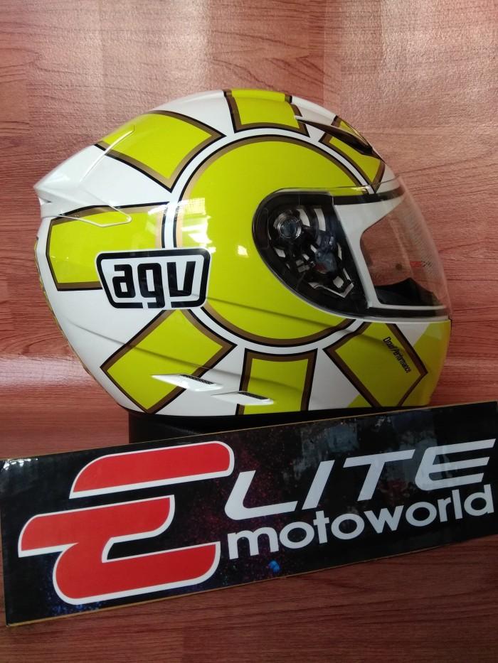 Helm AGV K3 Rossi Gothic White 2