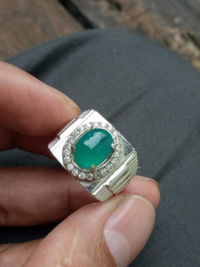 harga Promo perhiasan cincin bacan doko natural gulau green kristal top Tokopedia.com