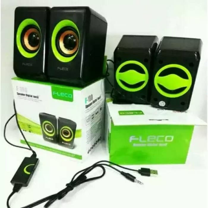 harga Speaker fleco f-180 speaker mini komputer / laptop / hp Tokopedia.com