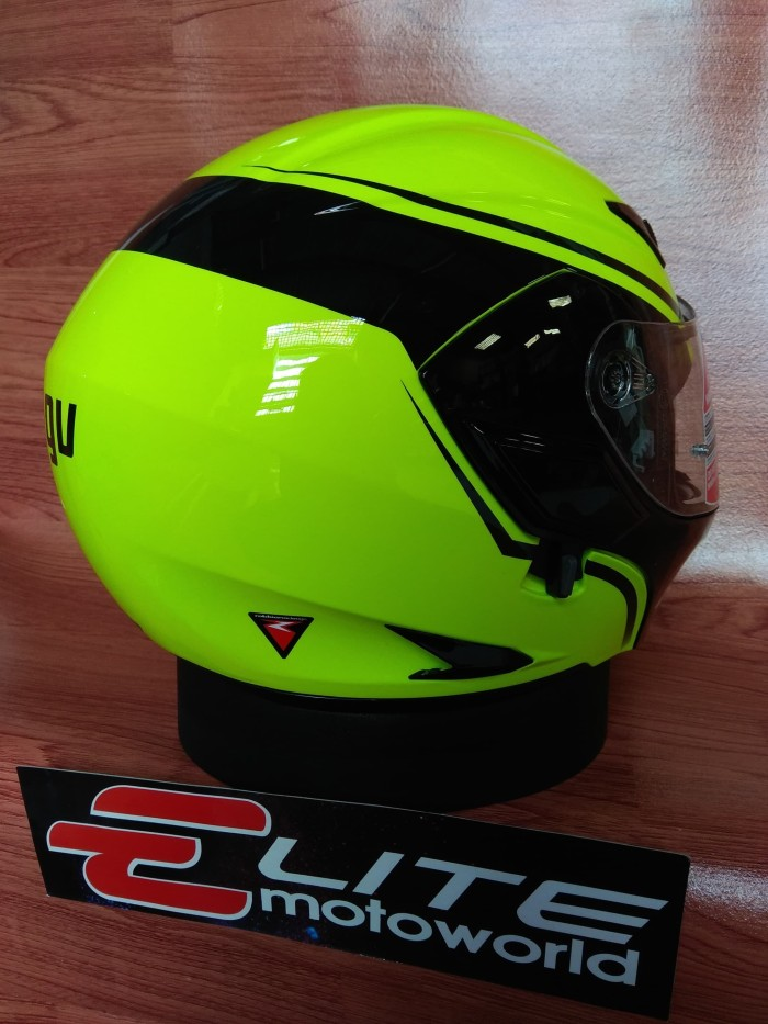 Helm AGV Compact Course Yellow (Helm Modular / Flip Up) 2