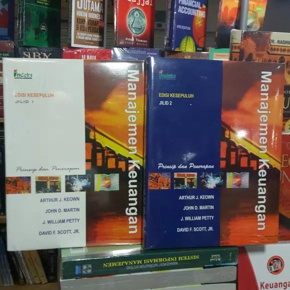 Manajemen keuangan edisi 10 1set2buku by arthur keown
