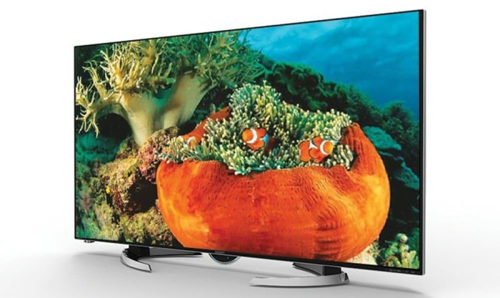 Jual Promo TV Sharp 58 Inch Type LC-58UE1M UHD 4K 3D Smart TV - Samudra  Elektro   Tokopedia