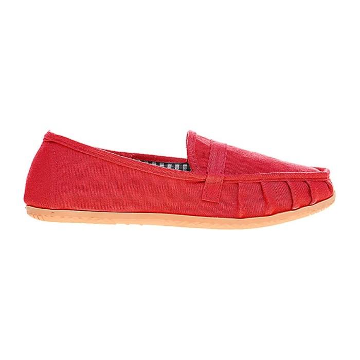 Jual Sepatu Dr.Kevin Light Comfort & Flexible Women Flat Slip On 5306 – Red – Merah 41 Harga Promo